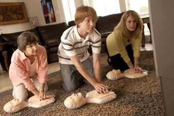 CPR Family  Friends - Training Session